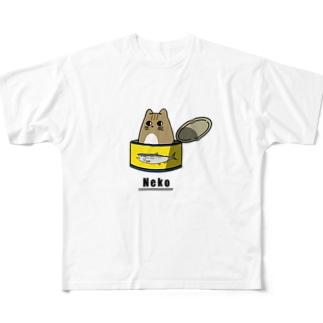 NEKO Full graphic T-shirts