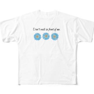 映えと英文 Full graphic T-shirts
