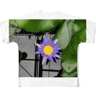 蓮の目 Full graphic T-shirts