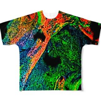 混色2 Full graphic T-shirts