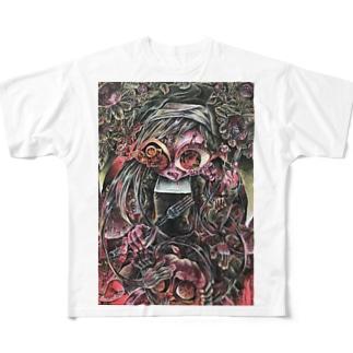 なやめるシスター Full graphic T-shirts
