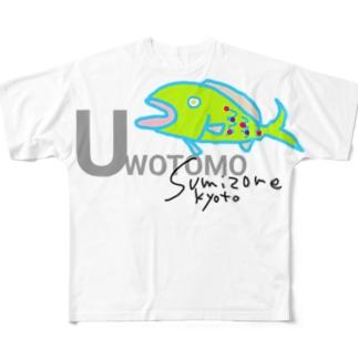UWOTOMO Full graphic T-shirts