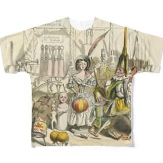 J・J・グランヴィル「もう一つの世界」 Full graphic T-shirts