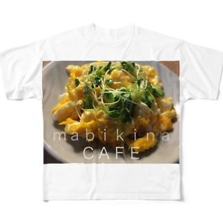 間引き菜カフェ・A Full graphic T-shirts