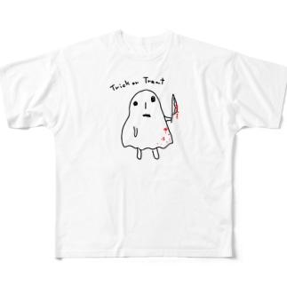 実力行使系ハロウィン Full graphic T-shirts