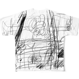 カタコンベ断面 Full graphic T-shirts