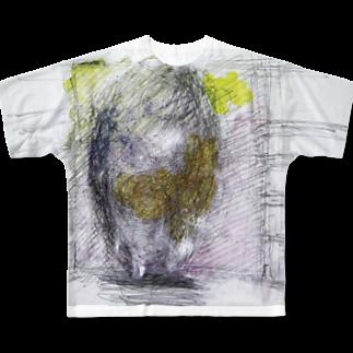 皆神ベースのMAYU 2 Full graphic T-shirts