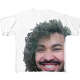 ロドリゲスの笑み Full graphic T-shirts