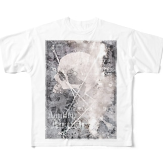 nanaqsaのtalk to me Full graphic T-shirts