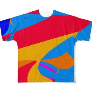 時と涙の部屋。 Full graphic T-shirts