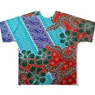 Baliholic-batik1 Full graphic T-shirts