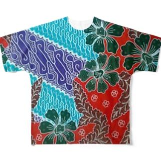 Baliholic-batik2 Full graphic T-shirts