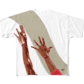 JORDAN Full graphic T-shirts