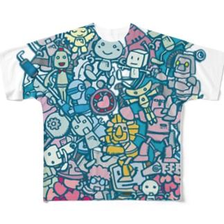 ROBOT Century Full graphic T-shirts
