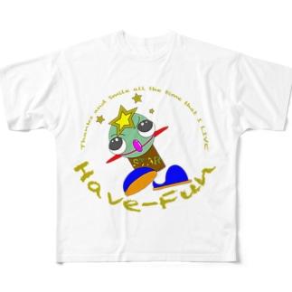 星坊主HF-2 Full graphic T-shirts
