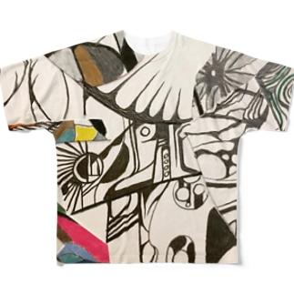 ヴィクトリーT-shirt Full graphic T-shirts