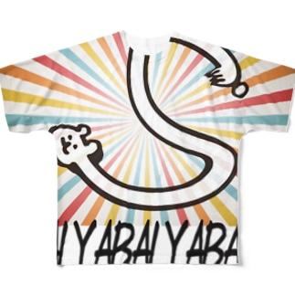 YABAI  チャンネルのあいつ Full graphic T-shirts