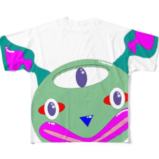小デHF-2 Full graphic T-shirts