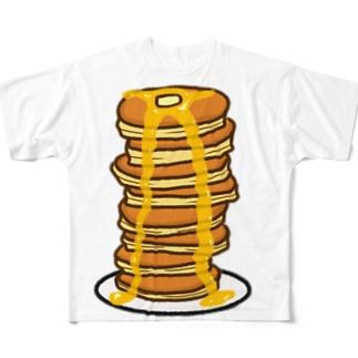 パンケーキ Full graphic T-shirts