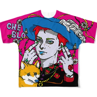 CHEB'O' Full graphic T-shirts