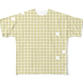 鯛焼き帷子(たいやきかたびら) Full graphic T-shirts