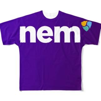 nemsymbol Full graphic T-shirts