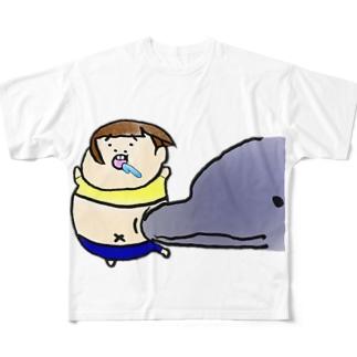 タムラの妹(不遇の妹) Full graphic T-shirts