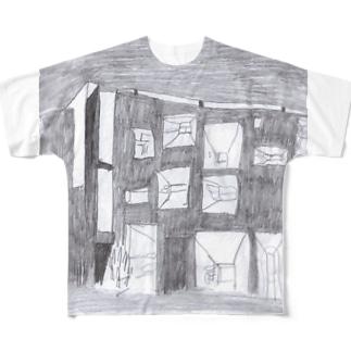ロンシャン Full graphic T-shirts
