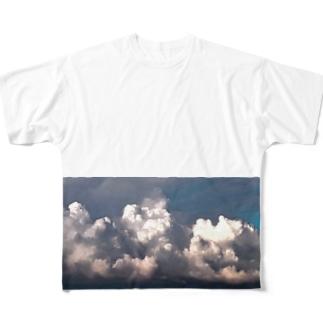 モクモ雲 Full graphic T-shirts