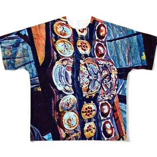 三冠ヘビー級 Full graphic T-shirts