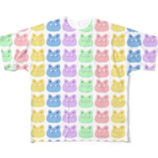 nekoT Full graphic T-shirts