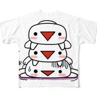 O2K1の三段みつぞう Full graphic T-shirts