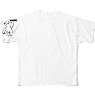 ネコ? Full graphic T-shirts