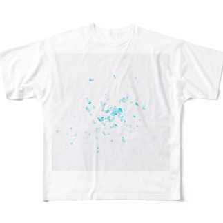 かけら Full graphic T-shirts