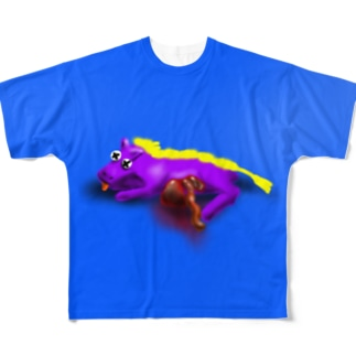 horse dead Full graphic T-shirts