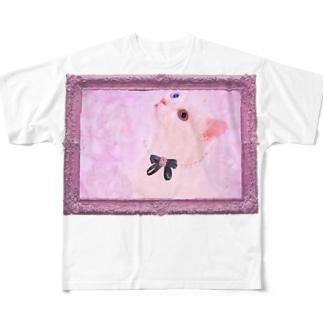 Actress Cat Full graphic T-shirts