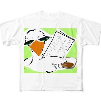 情報屋 トリさん Full graphic T-shirts