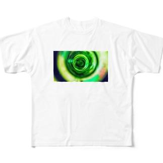 グルグル模様シリーズ Full graphic T-shirts