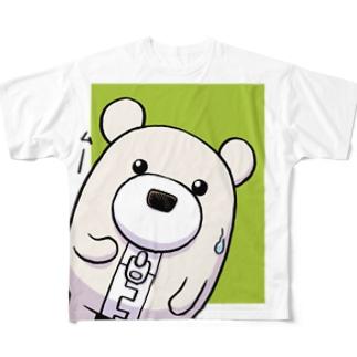 【チャックま】チャックま Full graphic T-shirts