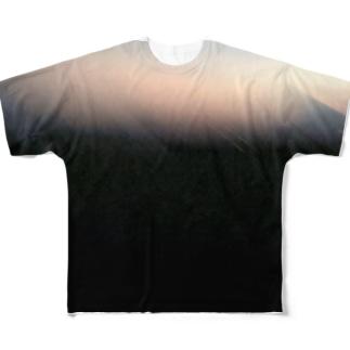 雛.のmidnight  Full graphic T-shirts
