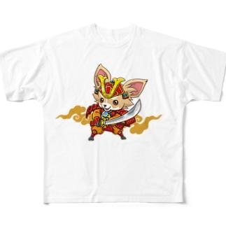 親兵衛のフルグラフィックTシャツ Full graphic T-shirts