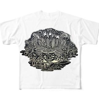 NATURALFASHION Full graphic T-shirts