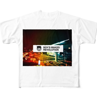 BOY'S MAKES REVOLUTION - Strong Edition Full graphic T-shirts