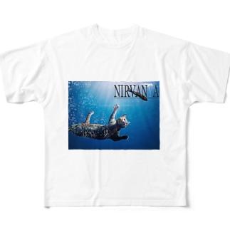 ニルバーニャ Full graphic T-shirts