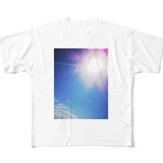 さんしゃいん Full graphic T-shirts