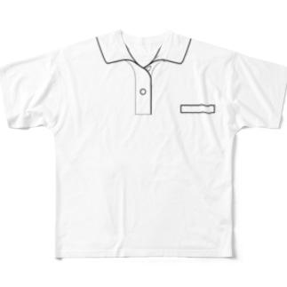 ポロシャツ風 Full graphic T-shirts