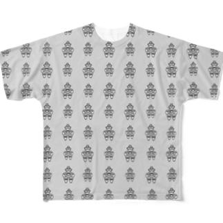 ドグウ Full graphic T-shirts