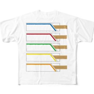 割りばし Full graphic T-shirts