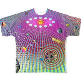 NAZONAZO-Storeのレトロ・ユニバースII Full graphic T-shirts
