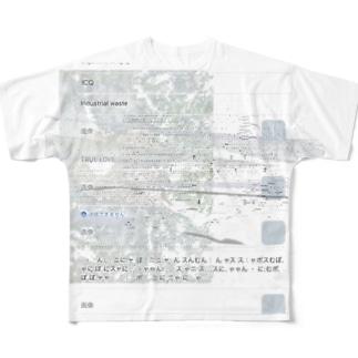 れんらく Full graphic T-shirts
